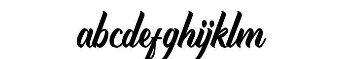 Griseldya Font LOWERCASE