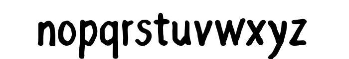 Grocery Rounded Font LOWERCASE