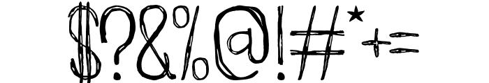 Groundhog Font OTHER CHARS