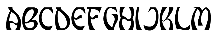 Grunge Decade Regular Font UPPERCASE