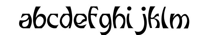 Grunge Decade Regular Font LOWERCASE