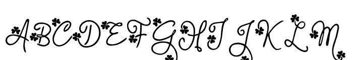 Gudlak Font UPPERCASE