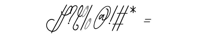 GullamiRice Font OTHER CHARS