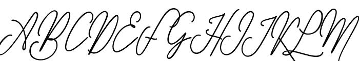 GullamiRice Font UPPERCASE