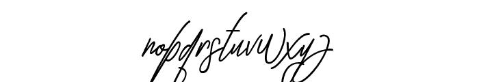 GullamiRice Font LOWERCASE