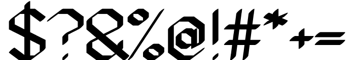 Gundiok regular Font OTHER CHARS