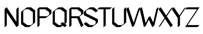 Gundiok regular Font UPPERCASE