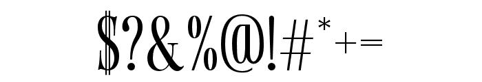 Gunstand-Regular Font OTHER CHARS