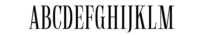 Gunstand-Regular Font UPPERCASE