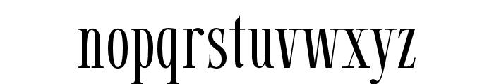Gunstand-Regular Font LOWERCASE