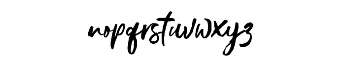 Gustolle Font LOWERCASE