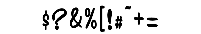 Gwynethe Alternate Decorative Font OTHER CHARS