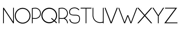 HALF MOON RISING Font UPPERCASE