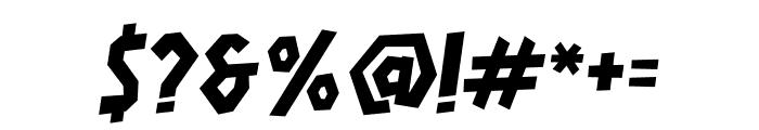 HARDLINERS Font OTHER CHARS