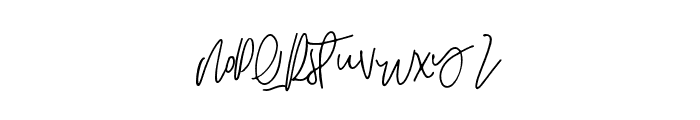 HARVEST Font LOWERCASE