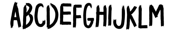 HELL RAISER Font LOWERCASE