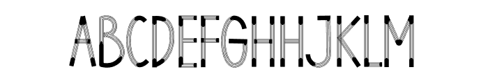 HELLO DESIGNER Font LOWERCASE