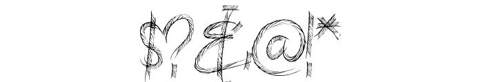 HIGHWAY SHREDDED Font OTHER CHARS