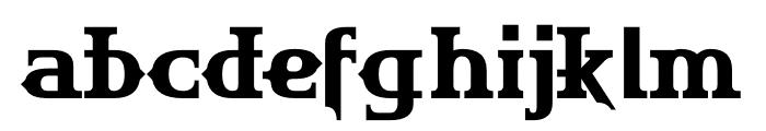 HU The Game Greek Font LOWERCASE