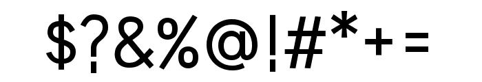 HU Wind Sans Medium Font OTHER CHARS