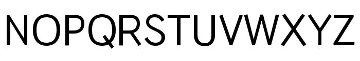 HU Wind Sans Medium Font UPPERCASE