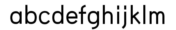 HU Wind Sans Medium Font LOWERCASE