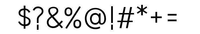 HU Wind Sans Regular Font OTHER CHARS