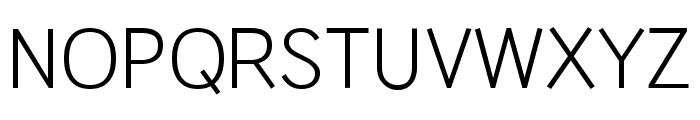 HU Wind Sans Regular Font UPPERCASE