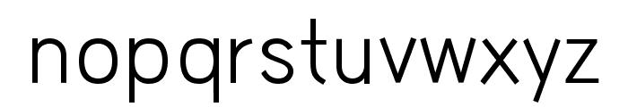 HU Wind Sans Regular Font LOWERCASE