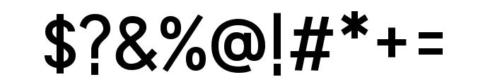 HU Wind Sans SemiBold Font OTHER CHARS