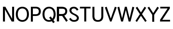HU Wind Sans SemiBold Font UPPERCASE