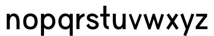 HU Wind Sans SemiBold Font LOWERCASE