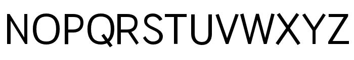 HUWindSans-Medium Font UPPERCASE