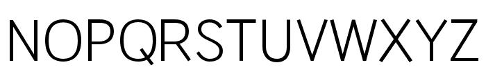 HUWindSans-Regular Font UPPERCASE