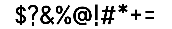 HUWindSans-SemiBold Font OTHER CHARS
