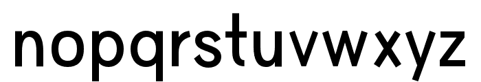 HUWindSans-SemiBold Font LOWERCASE