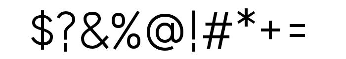 HUWindSansCyrillicR Font OTHER CHARS