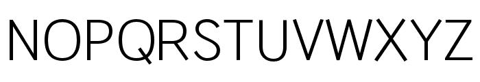 HUWindSansCyrillicR Font UPPERCASE