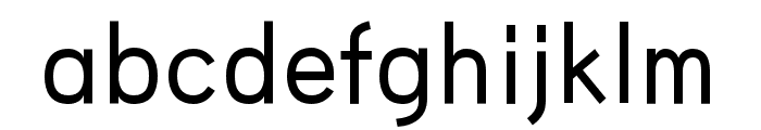 HUWindSansGreek-Medium Font LOWERCASE