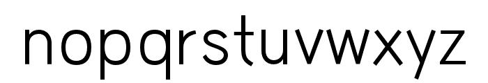 HUWindSansGreek-Regular Font LOWERCASE