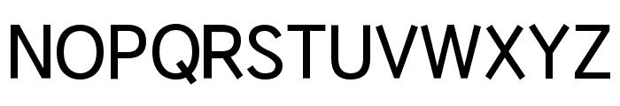 HUWindSansGreek-SemiBold Font UPPERCASE