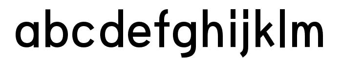 HUWindSansGreek-SemiBold Font LOWERCASE