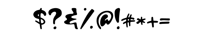 Hagia Signal Font OTHER CHARS