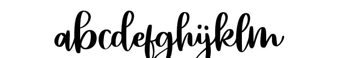 HaileyScript Font LOWERCASE