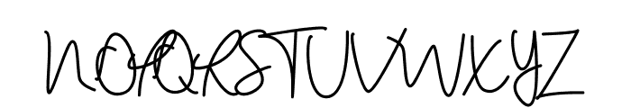 Haisley Mind Font UPPERCASE