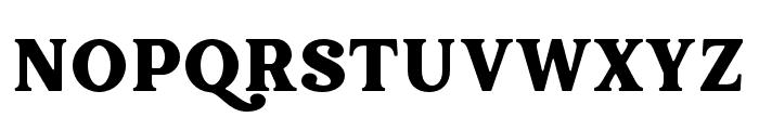 Hallen-Smooth Font UPPERCASE
