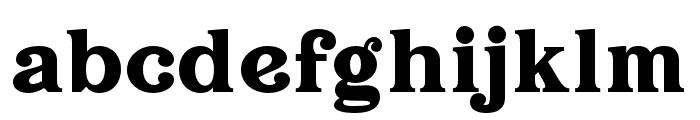 Hallen Font LOWERCASE