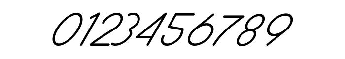 Halmondo Italic Font OTHER CHARS