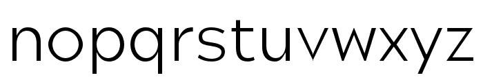 Hamlin Light Font LOWERCASE