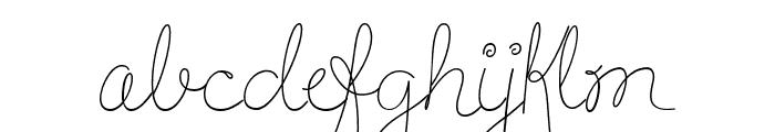 HandOfJoyBreeze Font LOWERCASE